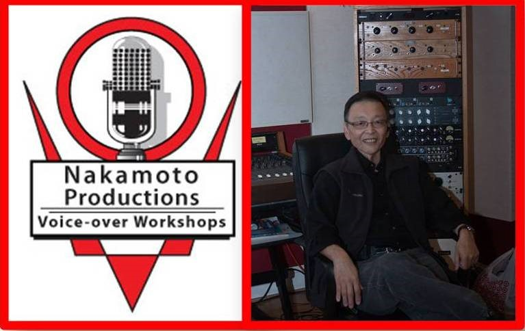 Ray Nakamoto in the studio